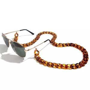 🆕 Chunky Vintage Acrylic Resin Sunglasses Chain